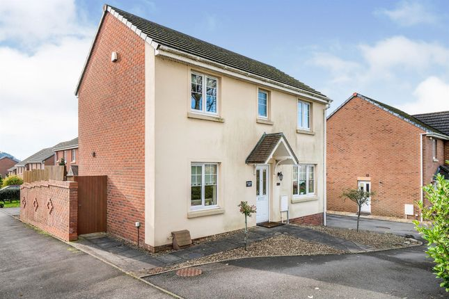 Thumbnail Detached house for sale in Glyn Garfield Close, Neath