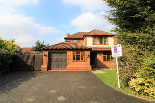 Thumbnail Detached house for sale in Redwood Gardens, Thornton
