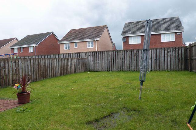 Rear Gardens of Wattle Lane, Ballerup Village, East Kilbride G75