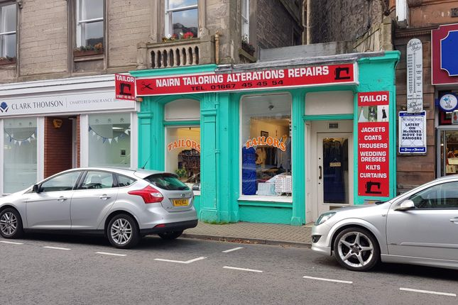 Thumbnail Retail premises for sale in 16 High Street, Nairn
