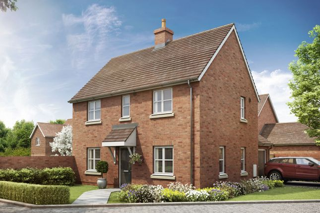 "Thumbnail Semi-detached house for sale in ""The Mountford"" at Crow Lane, Crow, Ringwood"