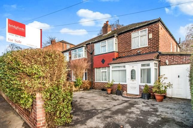 Thumbnail Semi-detached house for sale in Alness Road, Manchester, Greater Manchester, Manchester