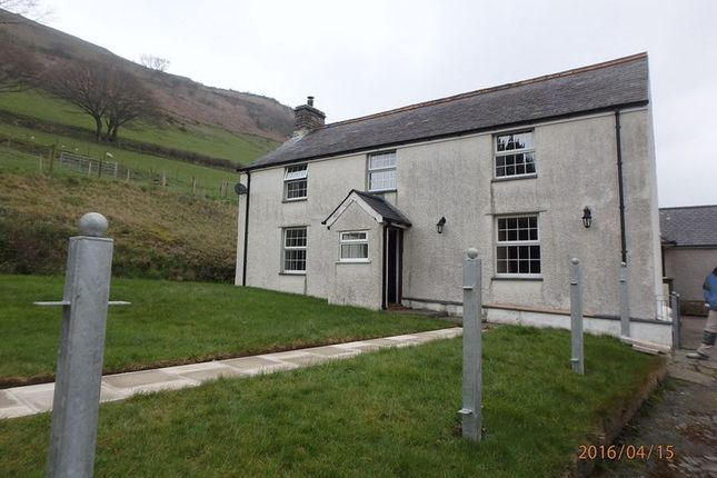 Thumbnail Detached house to rent in Bryncrug, Tywyn