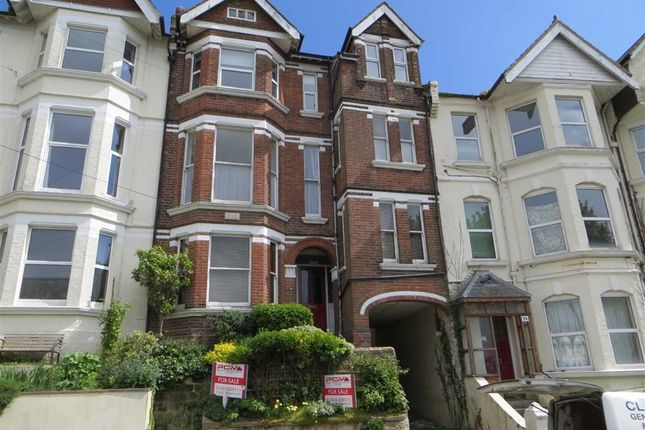 Thumbnail Flat for sale in Milward Crescent, Hastings, East Sussex
