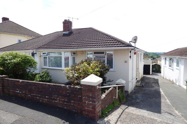 Thumbnail Semi-detached bungalow for sale in St. Margarets Road, Plympton, Plymouth