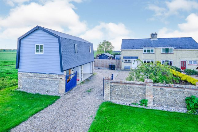 Thumbnail Semi-detached house for sale in Ten Mile Bank, Littleport, Ely