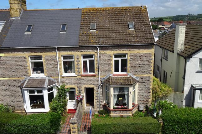 Thumbnail End terrace house for sale in New Road, Porthcawl