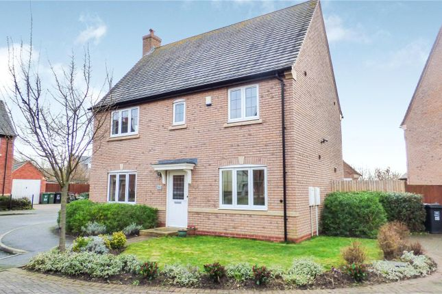 Thumbnail Detached house for sale in Saxby Drive, Syston, Leicester, Leicestershire