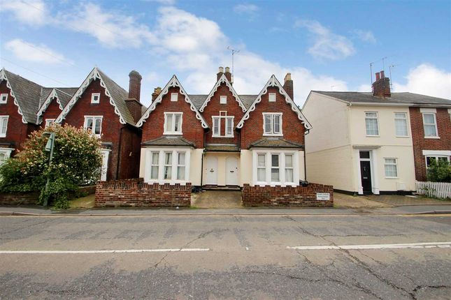 Thumbnail Flat for sale in Military Road, Colchester