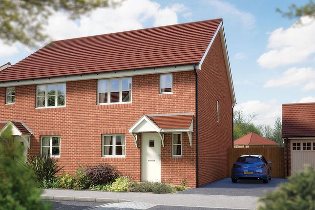 """Thumbnail Semi-detached house for sale in """"The Southwold"""" at Matthewsgreen Road, Wokingham"""