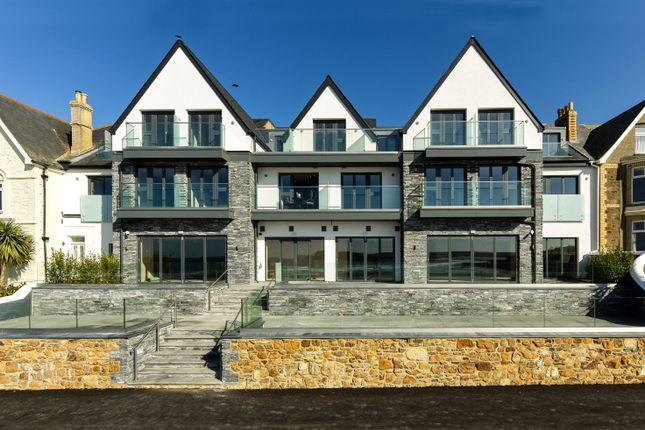 Thumbnail Flat for sale in Atlantic Terrace, New Polzeath, Wadebridge, Cornwall