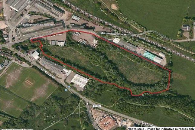 Thumbnail Land for sale in Butterthwaite Lane, Sheffield