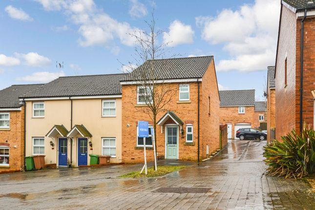 Thumbnail End terrace house for sale in Modern Home, Dragon Way, Cwm Calon, No Chain
