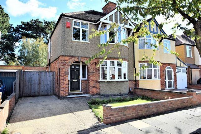 Thumbnail Semi-detached house for sale in Bush Hill, Abington, Northampton