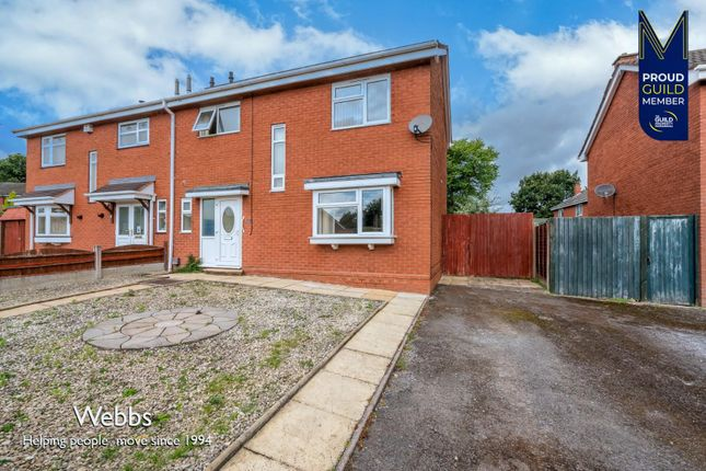 Thumbnail Semi-detached house for sale in Somerford Close, Cheslyn Hay, Walsall