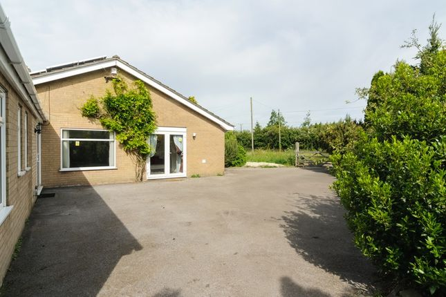Thumbnail Detached bungalow for sale in The Tardis, Hagnaby Lock, Stickney, Boston