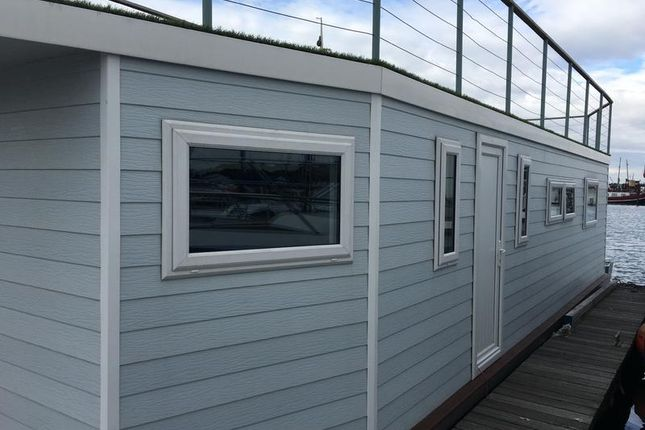 Thumbnail Houseboat for sale in Vicarage Lane, Port Werburgh, Hoo, Rochester