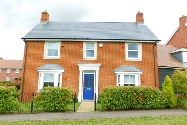 Thumbnail Link-detached house to rent in Poppy Walk, Stotfold, Hitchin