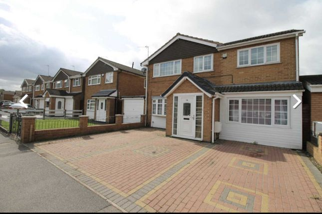 Thumbnail Shared accommodation to rent in Peebles Way, Rushey Mead, Leicester