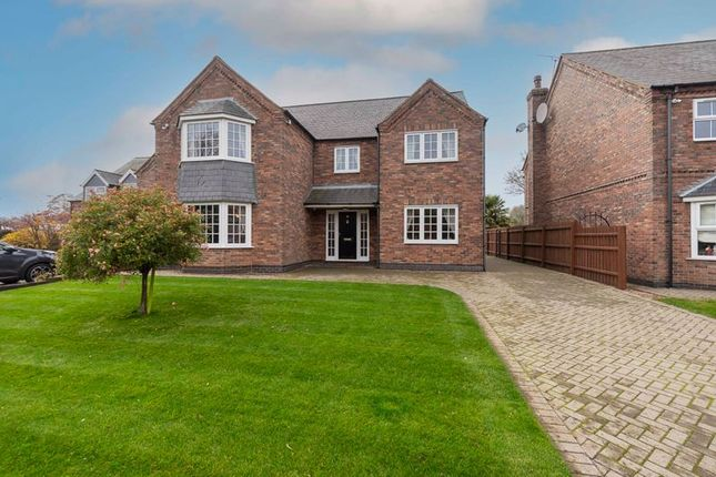 Thumbnail Detached house for sale in Brumby Hall Gardens, Scunthorpe