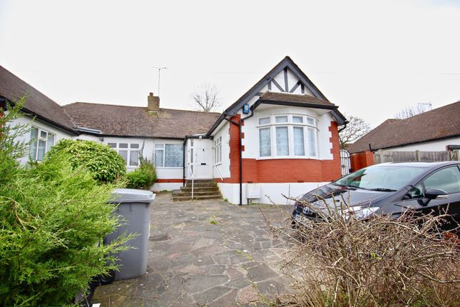 Thumbnail Bungalow to rent in Forty Close, Wembley, London