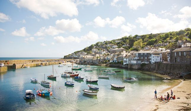 Thumbnail Terraced house for sale in Commercial Road, Mousehole, Penzance, Cornwall