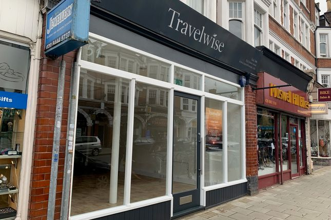 Thumbnail Retail premises to let in Fortis Green Road, Muswell Hill, London