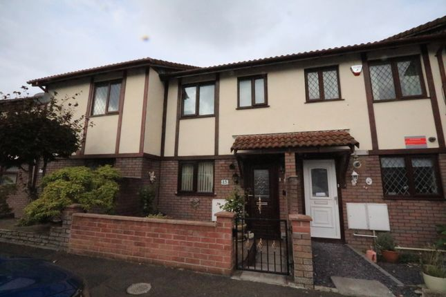 Thumbnail Terraced house for sale in Woodham Park, Barry