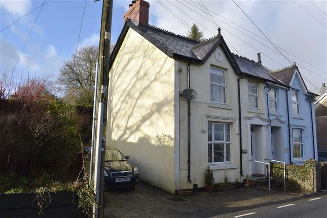 Thumbnail Semi-detached house for sale in Alltyblacca, Llanybydder