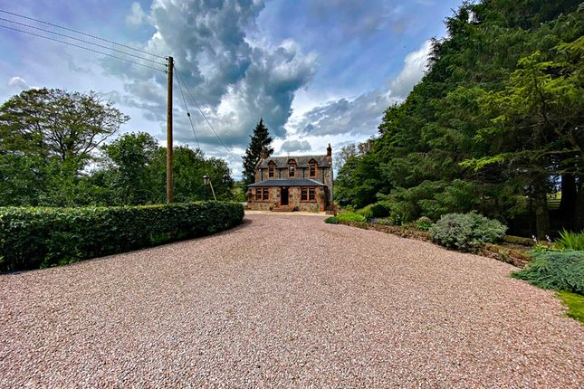 Thumbnail Detached house for sale in Bankshill, Lockerbie