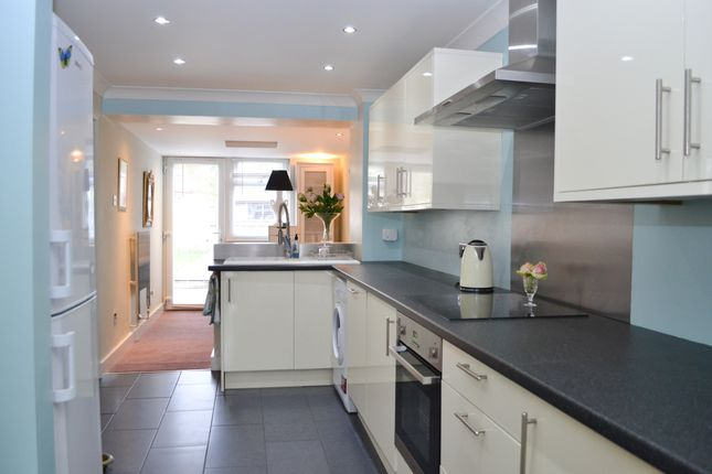 Thumbnail Terraced house for sale in Woodlands, Penwood, Highclere