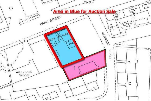 Thumbnail Land for sale in 293-297, Bank Street, Coatbridge ML51Eg