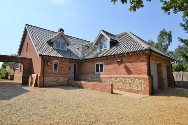Thumbnail Detached house for sale in Woodgate, Swanton Morley, Dereham