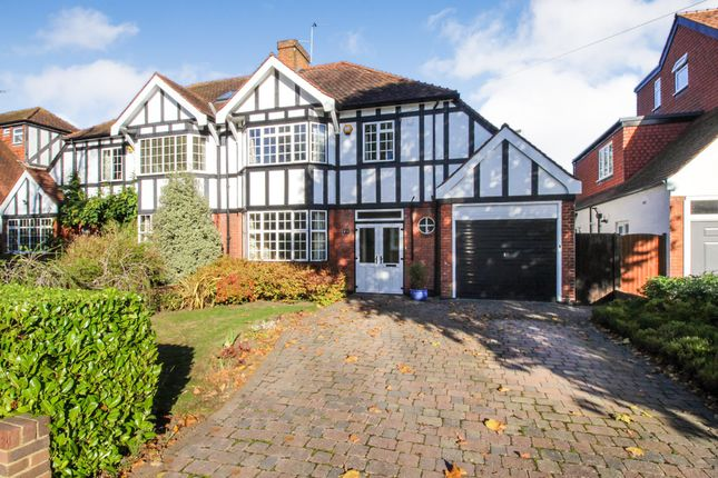 Thumbnail Semi-detached house for sale in Beauchamp Road, East Molesey