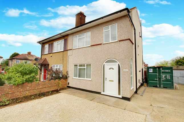 Thumbnail Semi-detached house to rent in Adelphi Crescent, Hayes