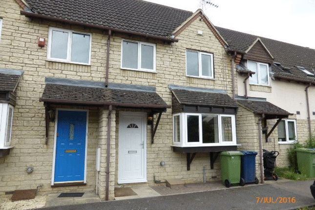 Thumbnail Terraced house to rent in The Cornfields, Bishops Cleeve, Cheltenham