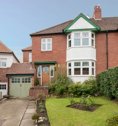 Thumbnail Semi-detached house for sale in Alexandra Crescent, Hexham