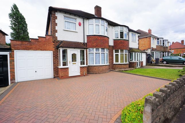 Thumbnail Semi-detached house for sale in Kings Road, Sutton Coldfield