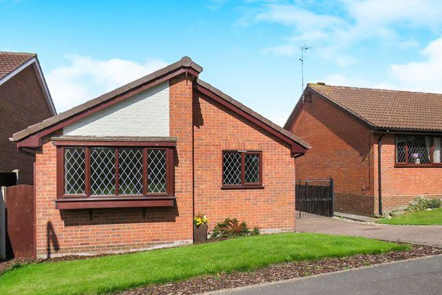 Thumbnail Detached bungalow for sale in Lark Rise, Uttoxeter