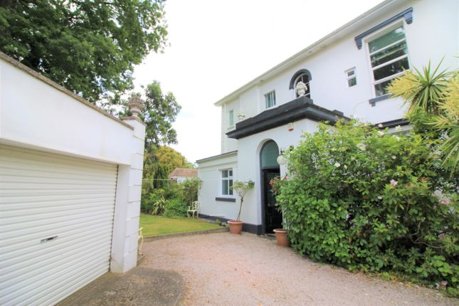 Thumbnail Maisonette for sale in Haldon Road, Torquay