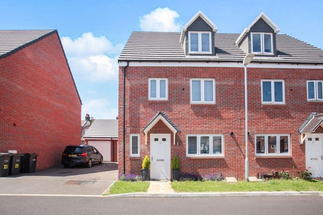 Thumbnail Terraced house for sale in Guardian Way, Luton