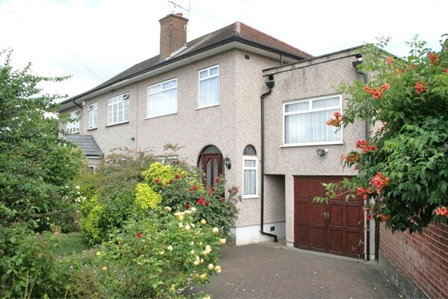 Thumbnail Semi-detached house for sale in Byron Way, Hayes