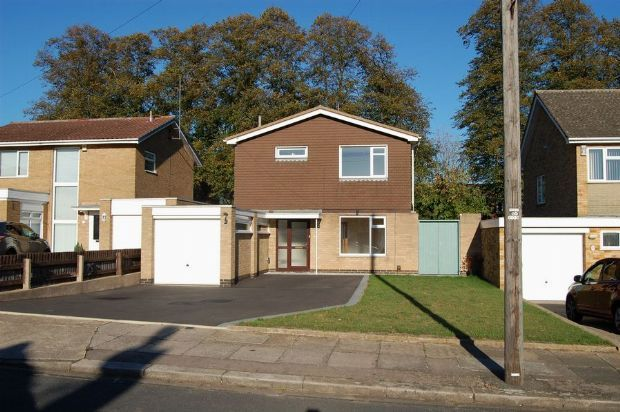 Thumbnail Detached house for sale in Rushmere Crescent, Rushmere, Northampton