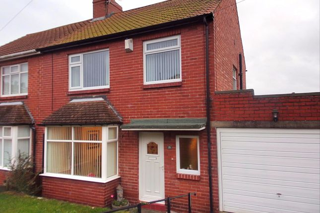 Thumbnail Semi-detached house for sale in Clovelly Gardens, Bedlington