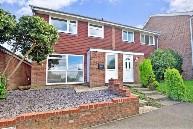 Thumbnail End terrace house for sale in Renton Close, Billingshurst, West Sussex