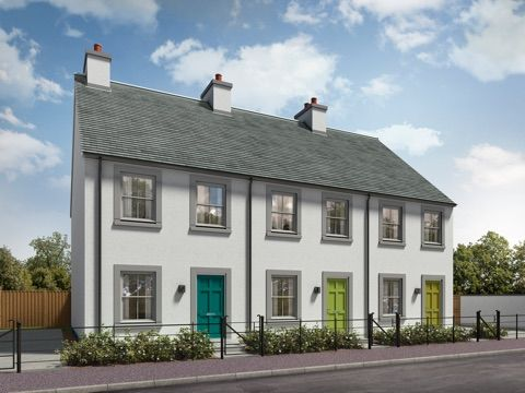 Thumbnail Terraced house for sale in Dalcross, Inverness IV2, Inverness,