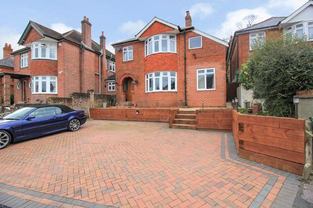 Thumbnail Detached house for sale in Edwina Close, Southampton