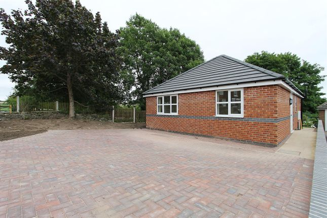 Thumbnail Detached bungalow for sale in Calow Lane, Hasland, Chesterfield