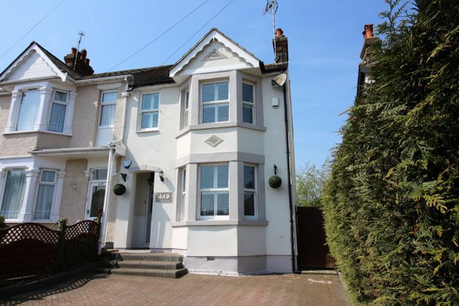 Thumbnail Semi-detached house for sale in Rayleigh Road, Benfleet