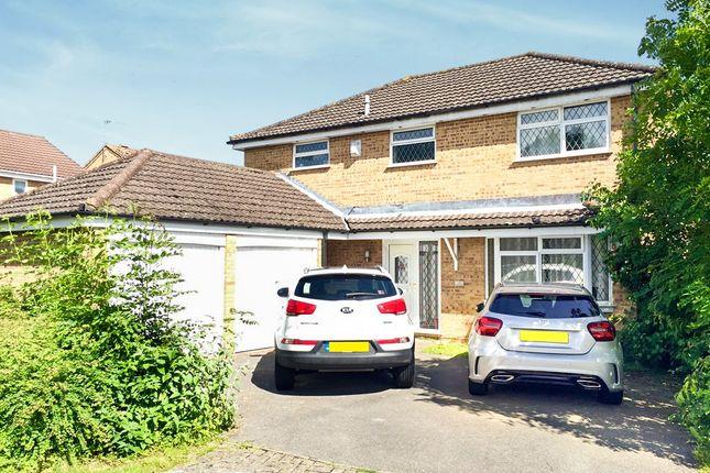 Thumbnail Detached house for sale in Deerhurst Close, Totton, Southampton